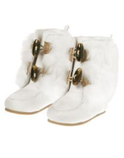 white fur boots in Baby & Toddler Clothing