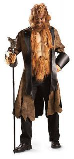Big Mad Wolf Bad Werewolf Scary Deluxe Adult Costume
