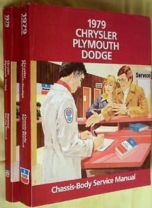 1979 Chrysler Plymouth Dodge Shop Service Repair Manual Engine