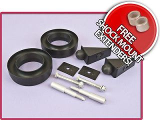 BB FRONT 2 BODY SUSPENSION LEVELING LIFT KIT W/ SHOCK EXTENDER &BUMP