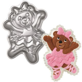 Ballerina Hula Witch Bear Shaped Novelty Birthday Party Cake Pan