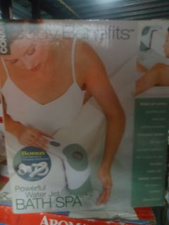NEW,CONAIR BODY BENEFIT POWERFUL WATER BATH SPA