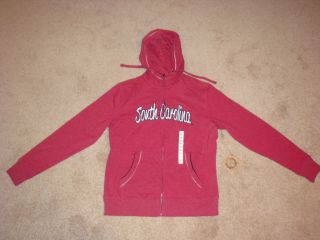CAMPUS DRIVE SOUTH CAROLINA GAMECOCKS WOMENS HOODIE NWT