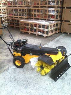 NEW SNOW PLOW, FOR SWEEPER, FOR POWER WHEEL BARREL