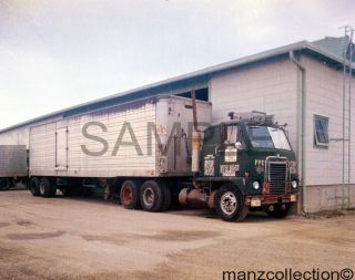 JB Hunt IHC International Semi Truck Tractor Trailer Original Slide