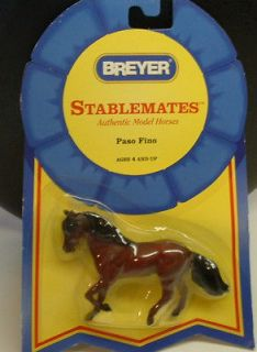 Newly listed BREYER STABLEMATES PASO FINO HORSE #5901 NEW 132 Scale