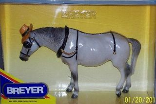 Breyer Model Horses Dapple Gray Plow Horse Starman