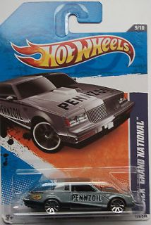 2011 Hot Wheels Buick Grand National Col. #139 (Grey Version)(Int