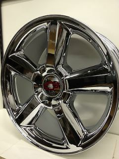 22 Inch Chrome Chevrolet Tahoe LTZ Factory GM Silverado Wheels 22x10
