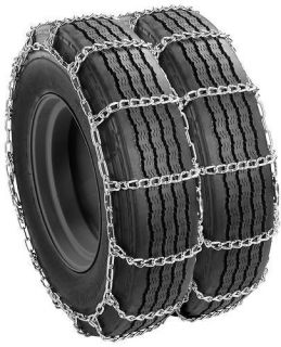 Truck Snow Tire Chains Wide Base Dual Mount 215/85R16LT