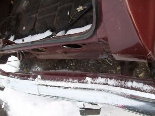 chevy caprice rear bumper filler