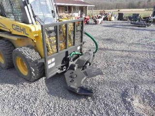 New CID Xtreme 12 Rotating Tree Shear For Bobcat Skid Steer Loader