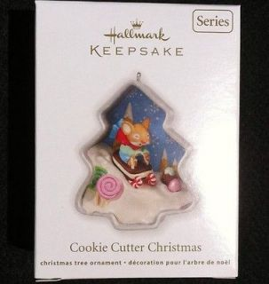 2012 Hallmark Cookie Cutter Christmas Ornament 1st in Series NIB