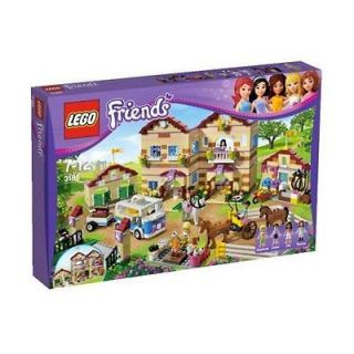 LEGO FRIENDS 3185 SUMMER RIDING CAMP & HORSE STEPHANIE ELLA THERESA