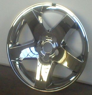 DODGE CHARGER CHROME WHEEL SKINS 17 FOR ALLOY WHEEL (Fits Dodge