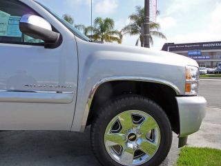 2007 2012 Silverado Dually Chrome Fender Trim Wheel Well lip opening