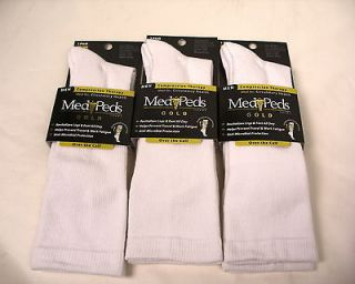 pair MEN graduated compression socks COTTON travel sports health