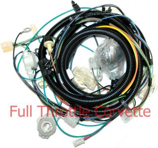 1980 Corvette Forward Lamp Wiring Harness With Tape