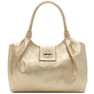 NEW Authentic KATE SPADE Gold Leather Wrightsville Stevie Tote Bag NWT