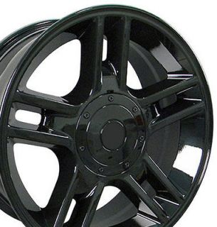 20 Black F150 Black Harley Wheels 20x9 Rims Fit Ford?? SET