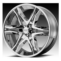 22 Inch Chrome Wheels Rims Chevy Tahoe Silverado Truck Suburban 2007