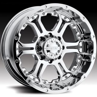 GEAR ALLOY RECOIL CHROME F 150 RAPTOR NAVIGATOR EXPEDITION WHEELS RIMS