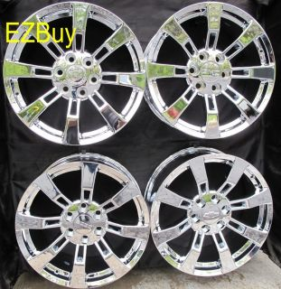 Escalade Factory Style New Chrome Wheels Rims Set of Four 5409