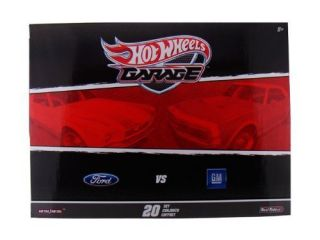 Hot Wheels 2011 Garage 20 Car Set Ford vs GM 67 Camaro New