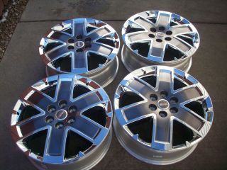 20 GMC Acadia Denali Factory Chrome Wheels Rims 2012