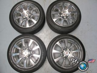 2011 Cadillac cts Factory 18 Polished Wheels Tires Rims 9597605 5x120