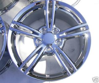 Corvette C6 2008 2009 2010 Chrome 18 19 Wheels Rims Exchange