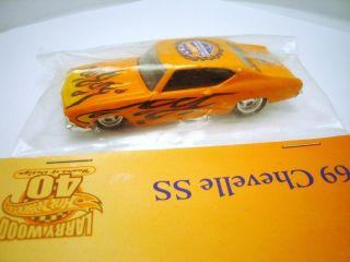 69 Chevelle SS 396 2008 Hot Wheels Convention Orange