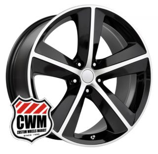Challenger SRT8 Replica Black Wheels Rims Fit Dodge Magnum 2008