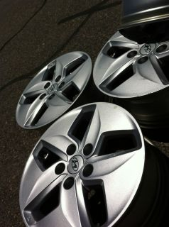 2012 HYUNDAI SONATA HYBRID KIA OPTIMA OEM STOCK FACTORY 16 WHEELS RIMS