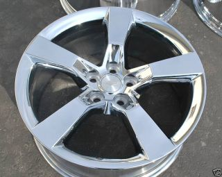 Camaro 20 RS SS 2010 2011 2012 Chrome Rims Wheels Exchange Sale