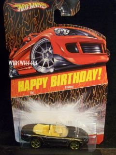 Hot Wheels 2008 Happy Birthday Jaguar XK8