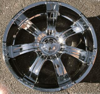 Poltergeist 501 22 Chrome Rims Wheels Tahoe Avalanche Escalade