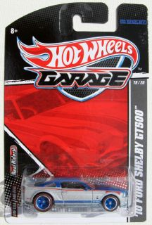 Hot Wheels Garage 2010 Ford Mustang Shelby GT500 RLT 19 20