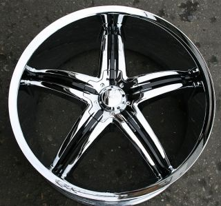 Viscera 770 20 Chrome Rims Wheels Honda Accord 5 Lug