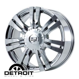 Cadillac SRX 18 Chrome PVD Wheels Rims Exchange