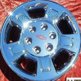 NEW 17 CHEVROLET SILVERADO TAHOE OEM CHROME WHEELS RIMS EXCHANGE 5295