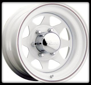 ALLOY 310W WHITE SPOKE 8X6 5 EXPRESS VAN RAM F250 C2500 WHEELS RIMS