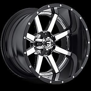 Maverick D260 2pc Wheel Set Chrome 20x12 4x4 2piece Wheels
