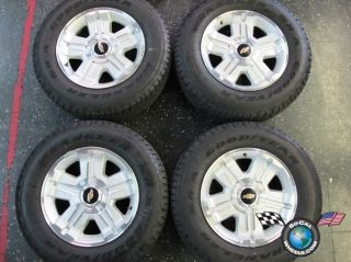 07 13 Chevy Tahoe Factory 18 Wheels Tires OEM Rims 1500 Suburban