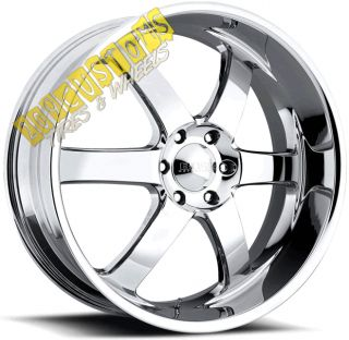 BOSS WHEELS 330 CHROME RIMS TIRES ESCALADE 2007 2008 2009 2010 2011 12