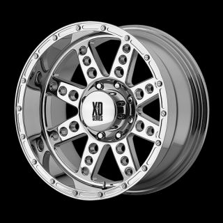Diesel XD766 Chrome 18 X 9 8X170 Ford F250 F350 Super Duty Wheels Rims