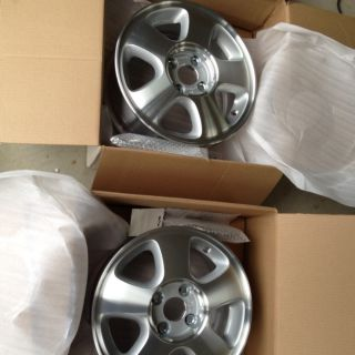 14 New Honda Civic Del Sol Integra Rims with Center Caps