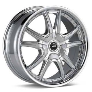 15 inch American Racing CHROME ALERT RIMS WHEELS 15x7 5x100 AWESOME