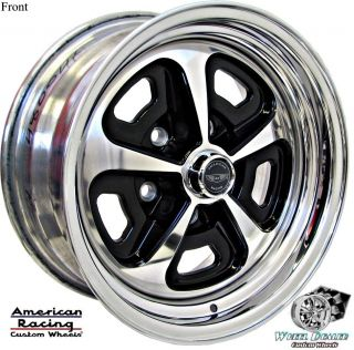AMERICAN RACING MAGNUM VN500 WHEELS IN STOCK FORD FALCON 1968 1969