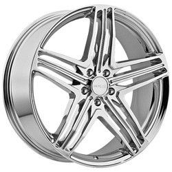18 inch Menzari Z12 Chrome Wheels Rims 5x120 20 BMW 5 6 7 Series 550